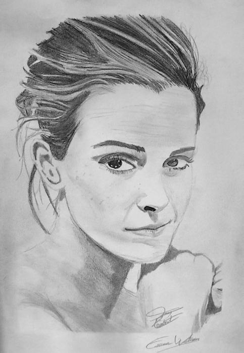 Emma Watson by TerryArtPortrait